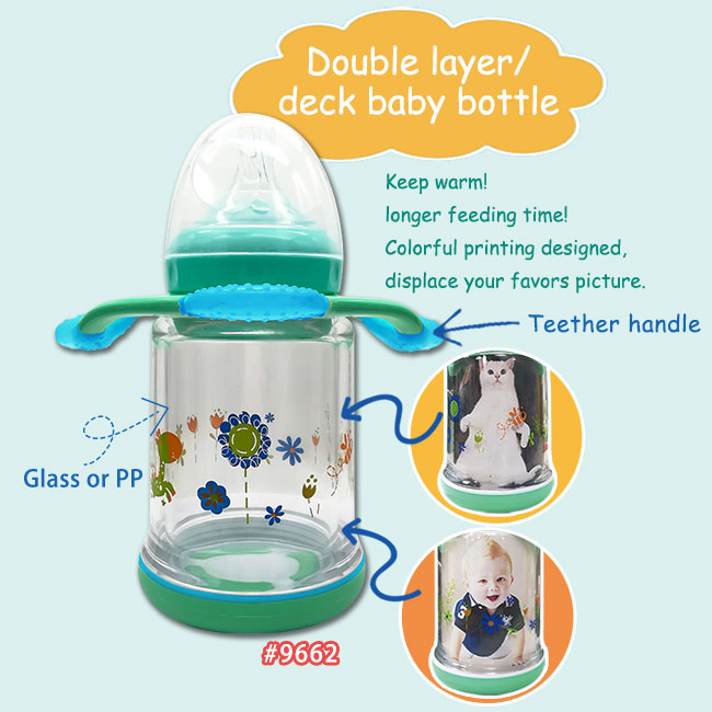 Double Layer / Deck Baby Bottle