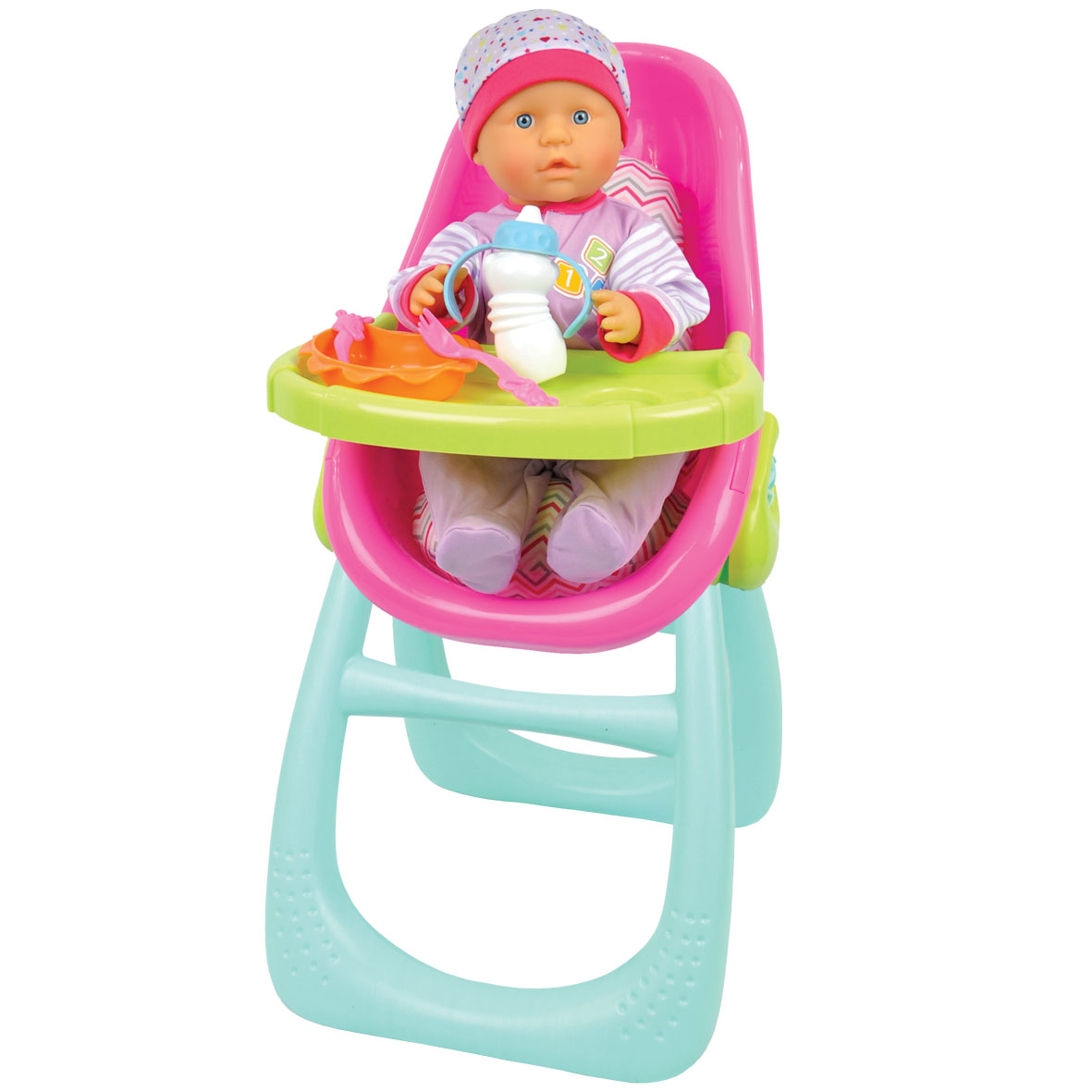 Baby Babbles High Chair & Baby