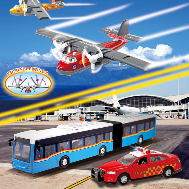 Sonic Water Bomber / Sonic Articulated Bus / Sonic SedanⅠ